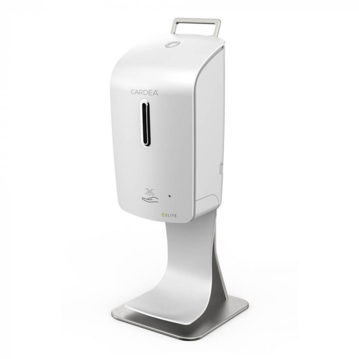 Countertop automatic hand sanitizer dispenser station