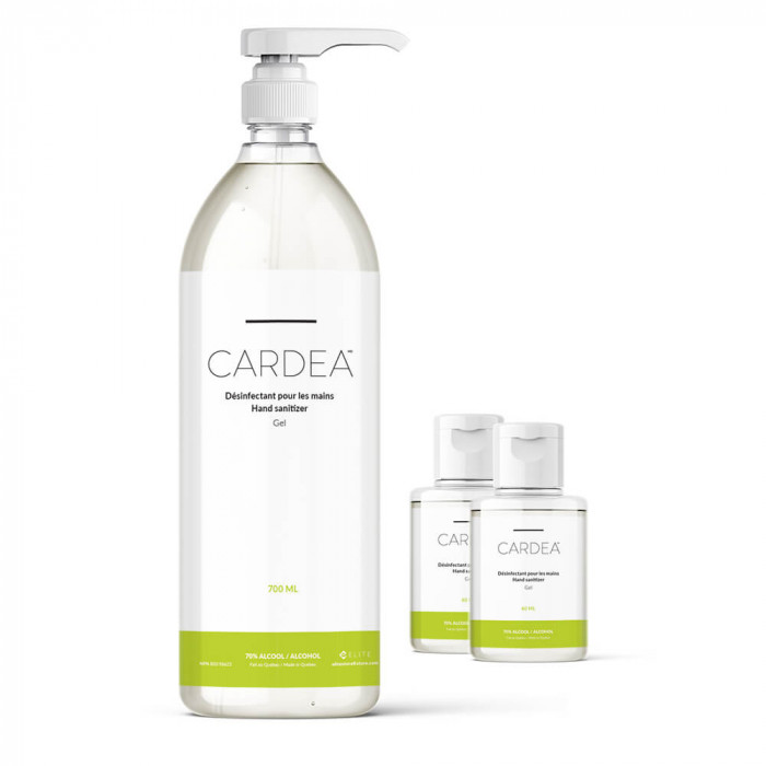 CARDEA antibacterial gel 70% alcohol disinfectant Duo+