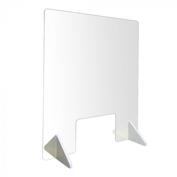 Plexiglass Shield Protection Panel 3/16'' thick (Available in 5 sizes)
