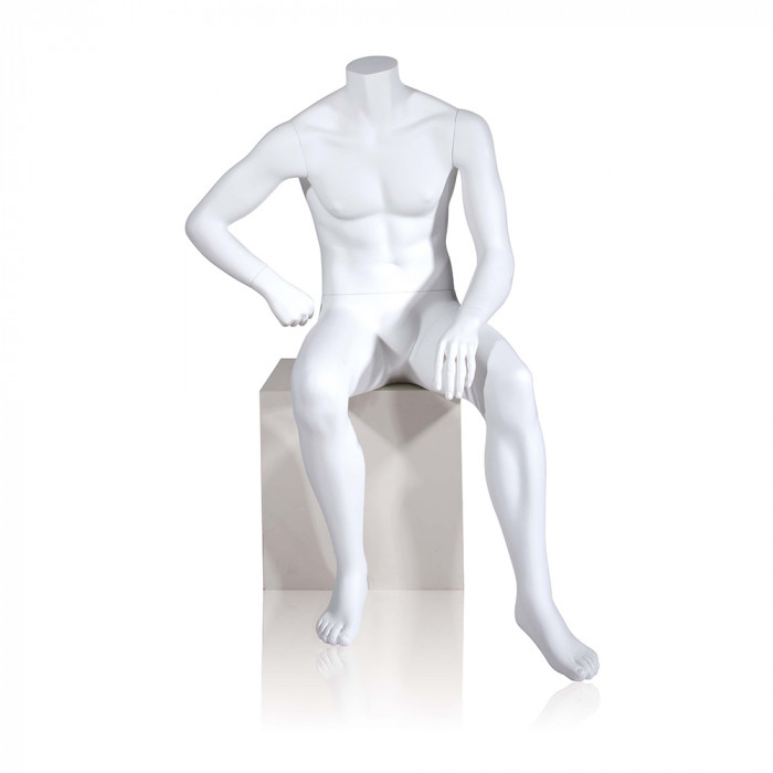 Male edgar mannequin--seated.