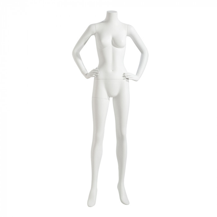 Female mannequin - headless, hands on hips