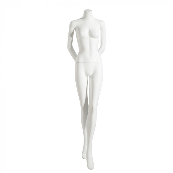 Female mannequin - headless, arms behind back