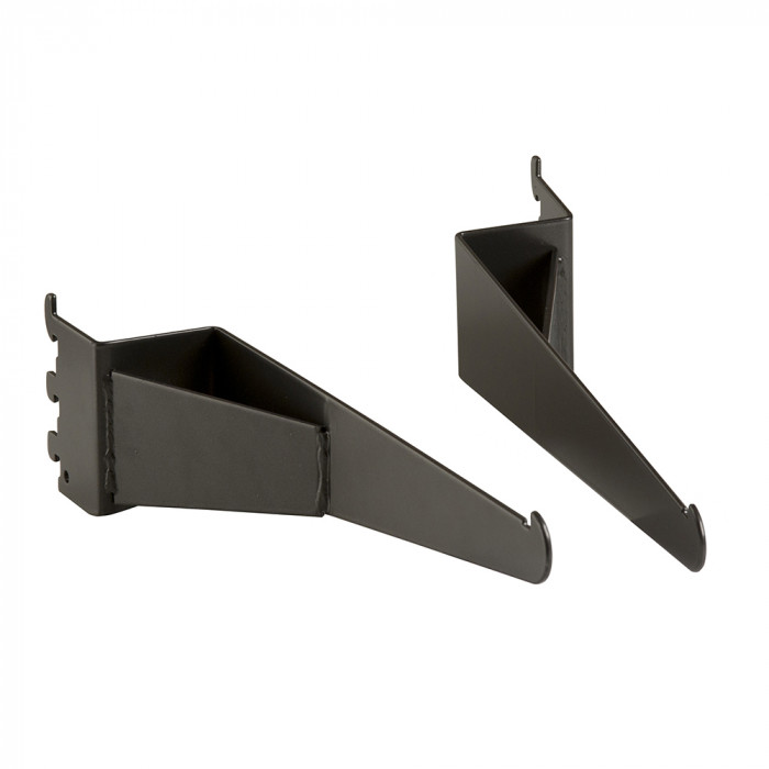Set of shelf brackets for outrigger