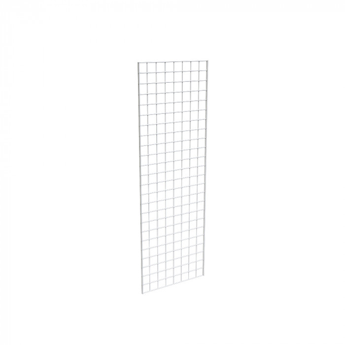 Grid panels 24''L x 72''H, white semigloss
