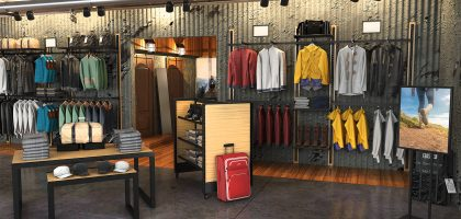 Sport and outdoor shop