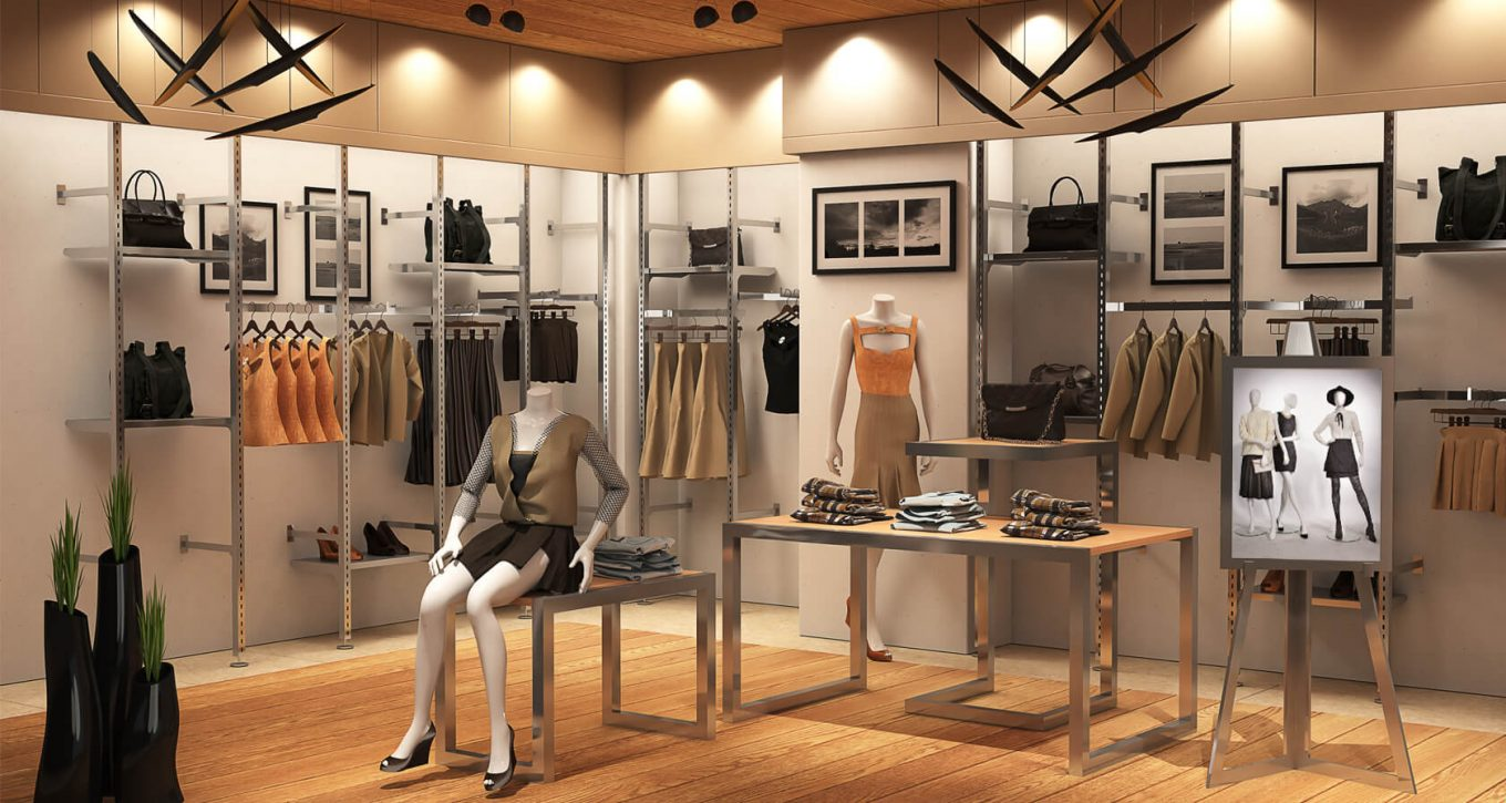 Ladies clothing and accessory store