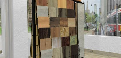 Floor tile samples